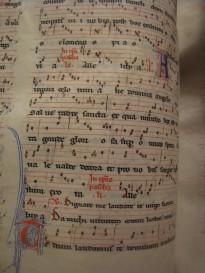 manuscrits de musique religieuse