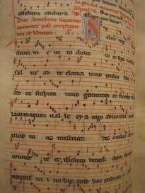 manuscrits avec lettrine