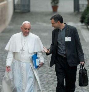 Javier Alvarez et le pape